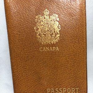 Passport holder - (got it from estate sale)